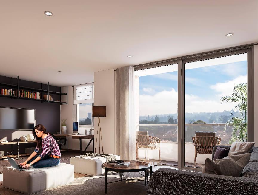 Apartamentos en venta - Proyecto Ébano San Antonio Pereira