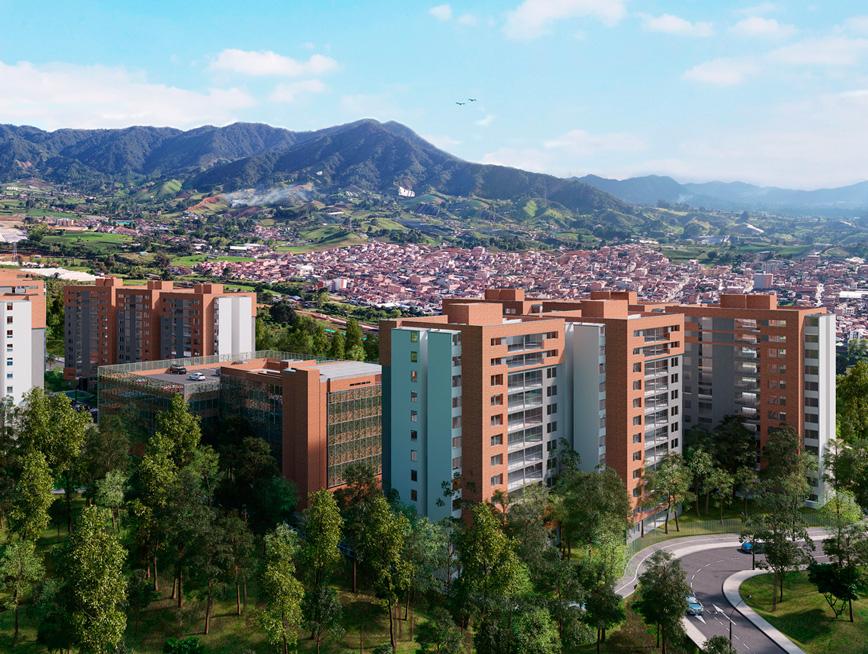 Apartamentos en venta - Proyecto Bosque Boreal